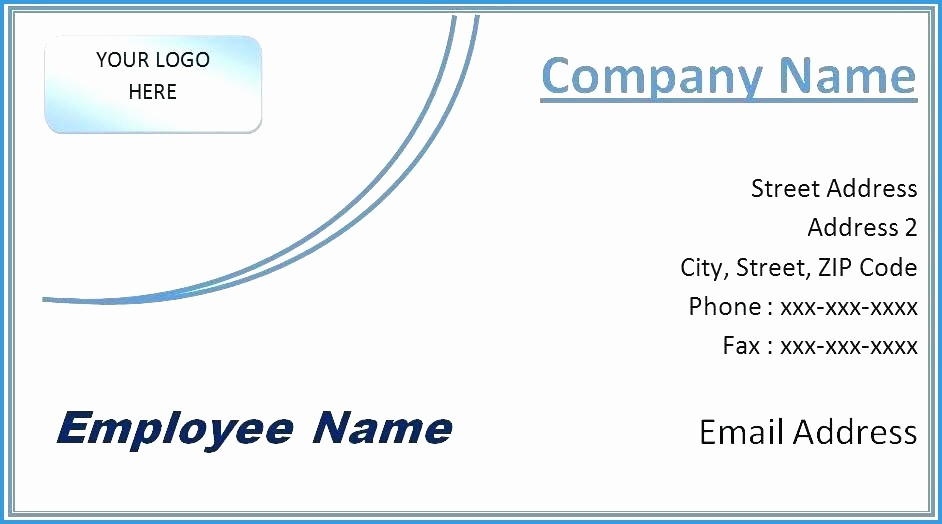 Microsoft Office Business Card Templates Unique Business Cards Templates Microsoft Fice Word Document