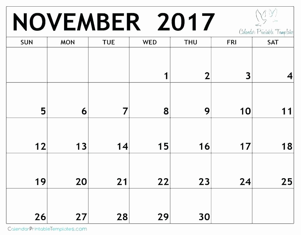 Microsoft Office Calendar Template 2017 Fresh Ms Office Calendar Templates 2017