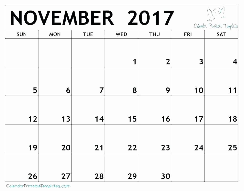 Microsoft Office Calendar Template 2017 Fresh Ms Office Calendar Templates 2017