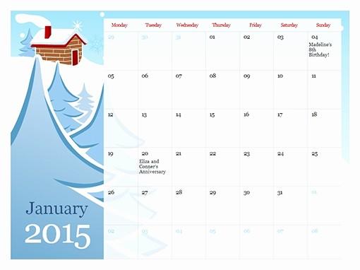Microsoft Office Calendar Template 2017 Lovely Ms Fice Calendar Template 2015 Invitation Template