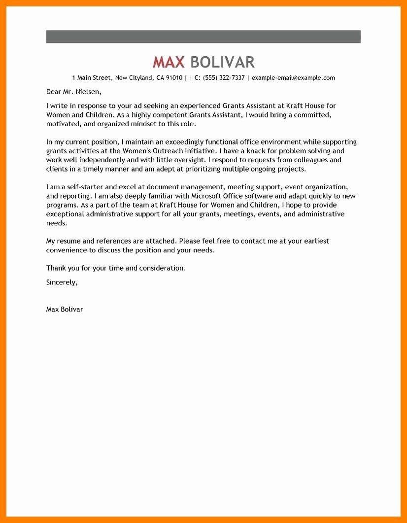 Microsoft Office Cover Letter Templates Inspirational 8 9 Microsoft Office Cover Letters
