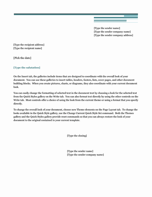 Microsoft Office Cover Letter Templates Inspirational Letters Fice
