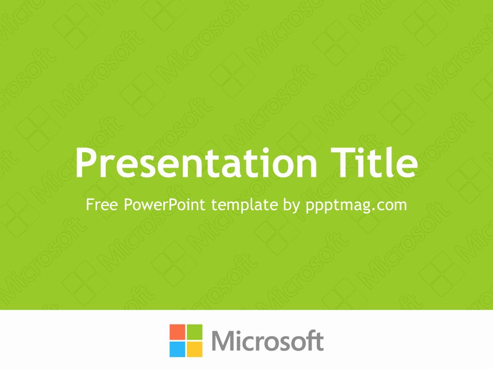 Microsoft Office Free Powerpoint Templates New Free Microsoft Powerpoint Template Pptmag