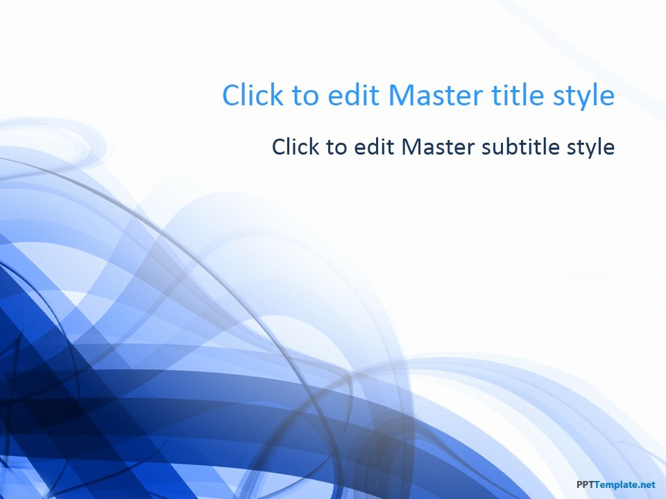 Microsoft Office Free Ppt Templates Awesome Free Blue Spiral Ppt Template