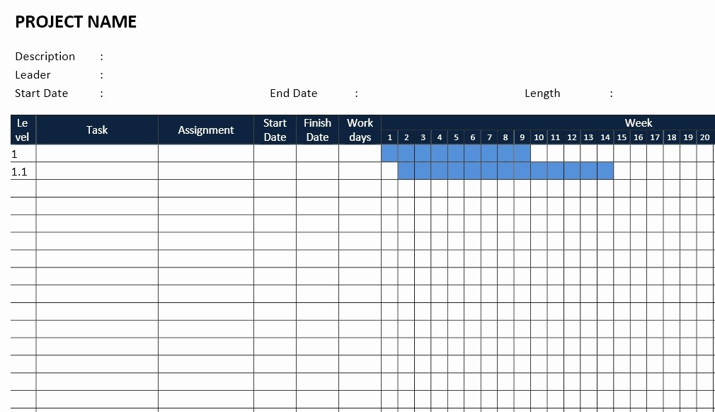 Microsoft Office Gantt Chart Templates Unique Download Make Gantt Chart Microsoft Project