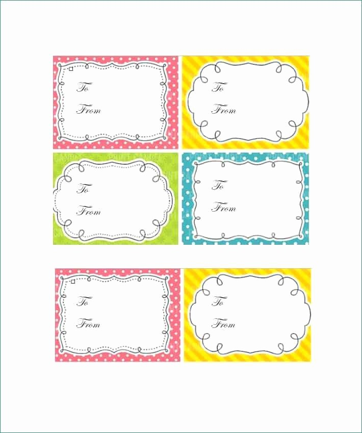 Microsoft Office Gift Tag Template Best Of Free Printable Gift Tags Templates Fancy Christmas Gift