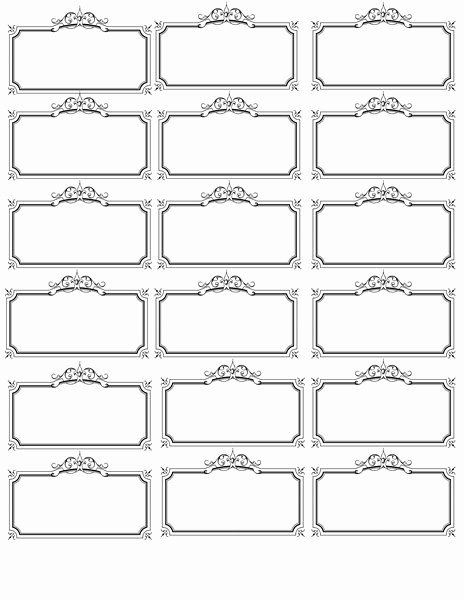 Microsoft Office Gift Tag Template Best Of Name Tag Template Bridal Shower Wedding