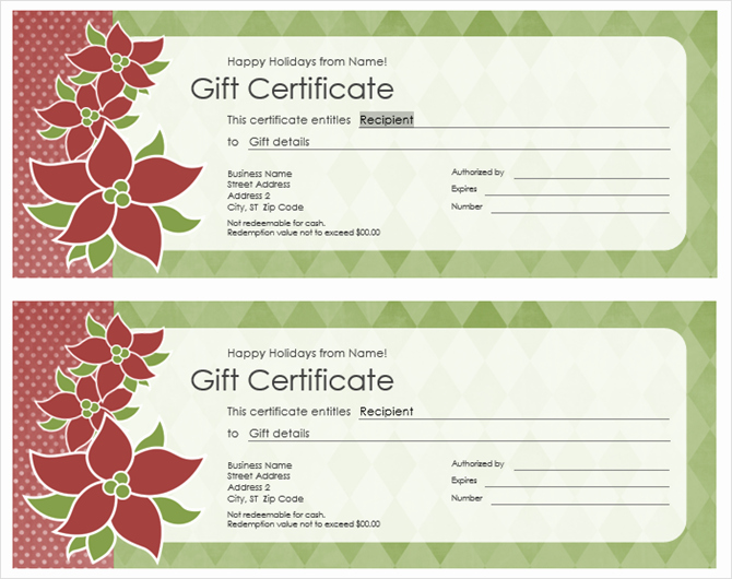 Microsoft Office Gift Tag Template Inspirational Get A Free Gift Certificate Template for Microsoft Fice