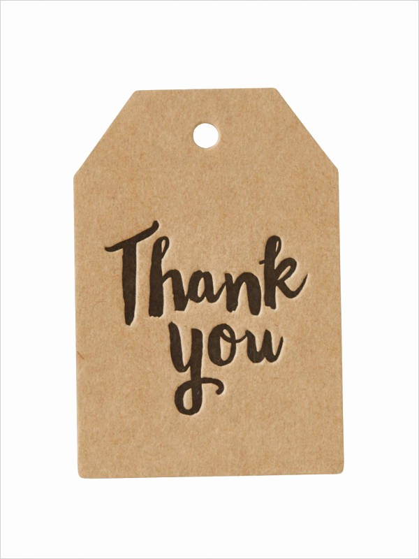 Microsoft Office Gift Tag Template New Thank You T Tags Printable Free Printable Thank You