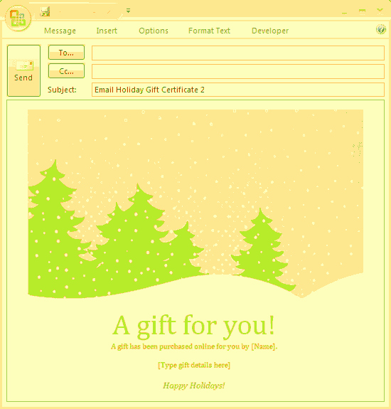 Microsoft Office Gift Tag Template Unique Download A Free Certificate Templates for Ms Fice