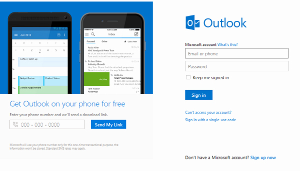 Microsoft Office Outlook Email Login Best Of Outlook Email Login Microsoft Account Login