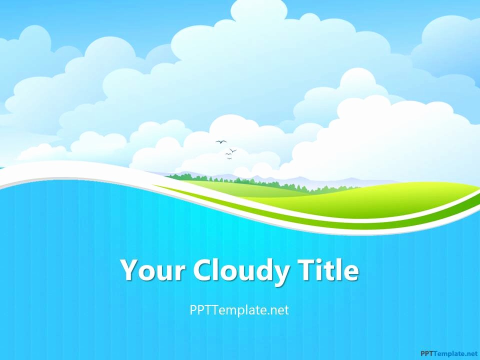 Microsoft Office Power Point Templates Luxury Free Sky Ppt Template