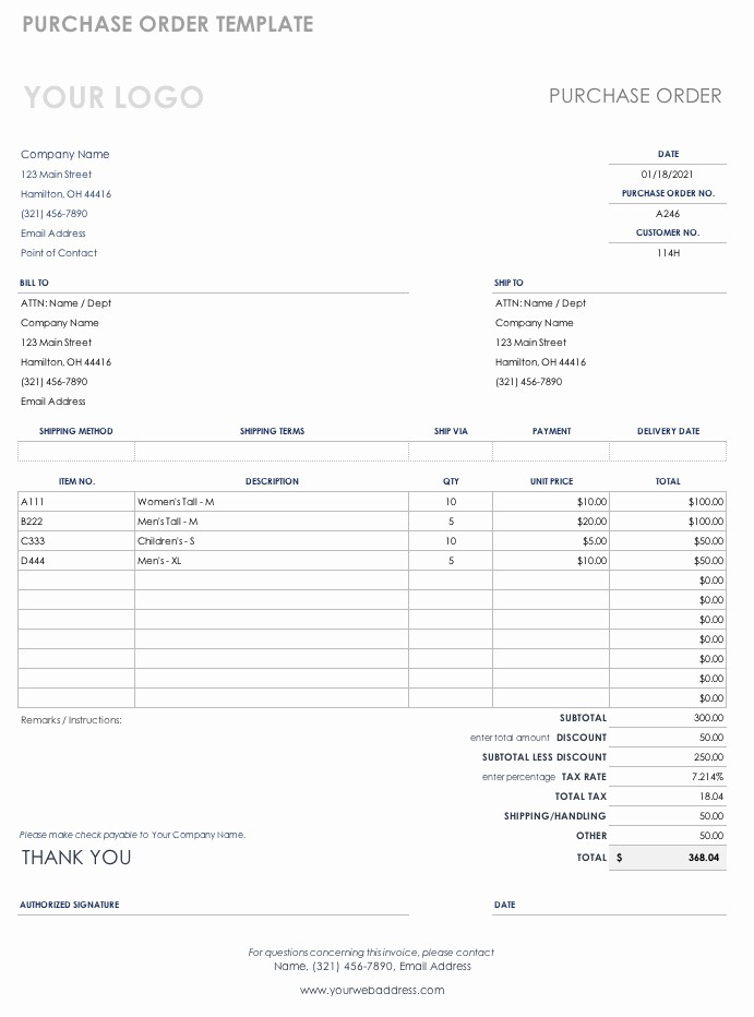 Microsoft Office Purchase order Templates New Free Purchase order Templates