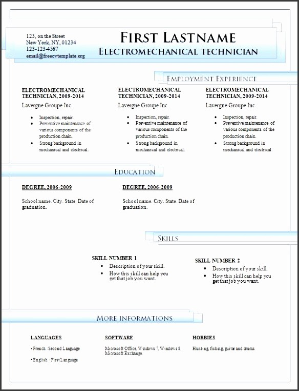 Microsoft Office Resume Templates Downloads Awesome 7 Download Word for Free Sampletemplatess Sampletemplatess