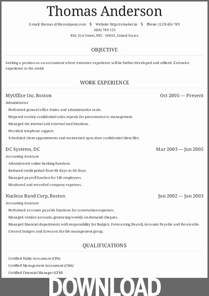 Microsoft Office Resume Templates Downloads Elegant Download 12 Free Microsoft Fice Docx Resume and Cv Templates