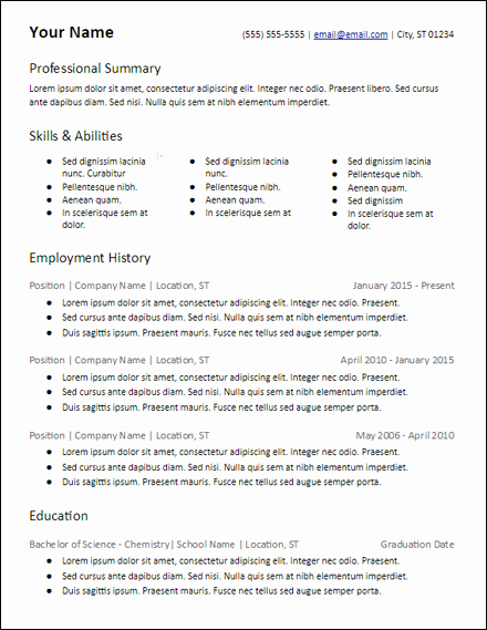Microsoft Office Skills Resume Template Beautiful Microsoft Word Resume Templates Free to Download