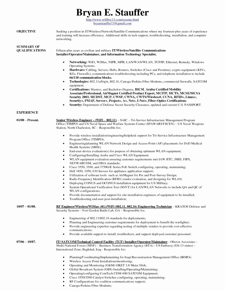 Microsoft Office Skills Resume Template Beautiful Puter Skills Resume Example Template