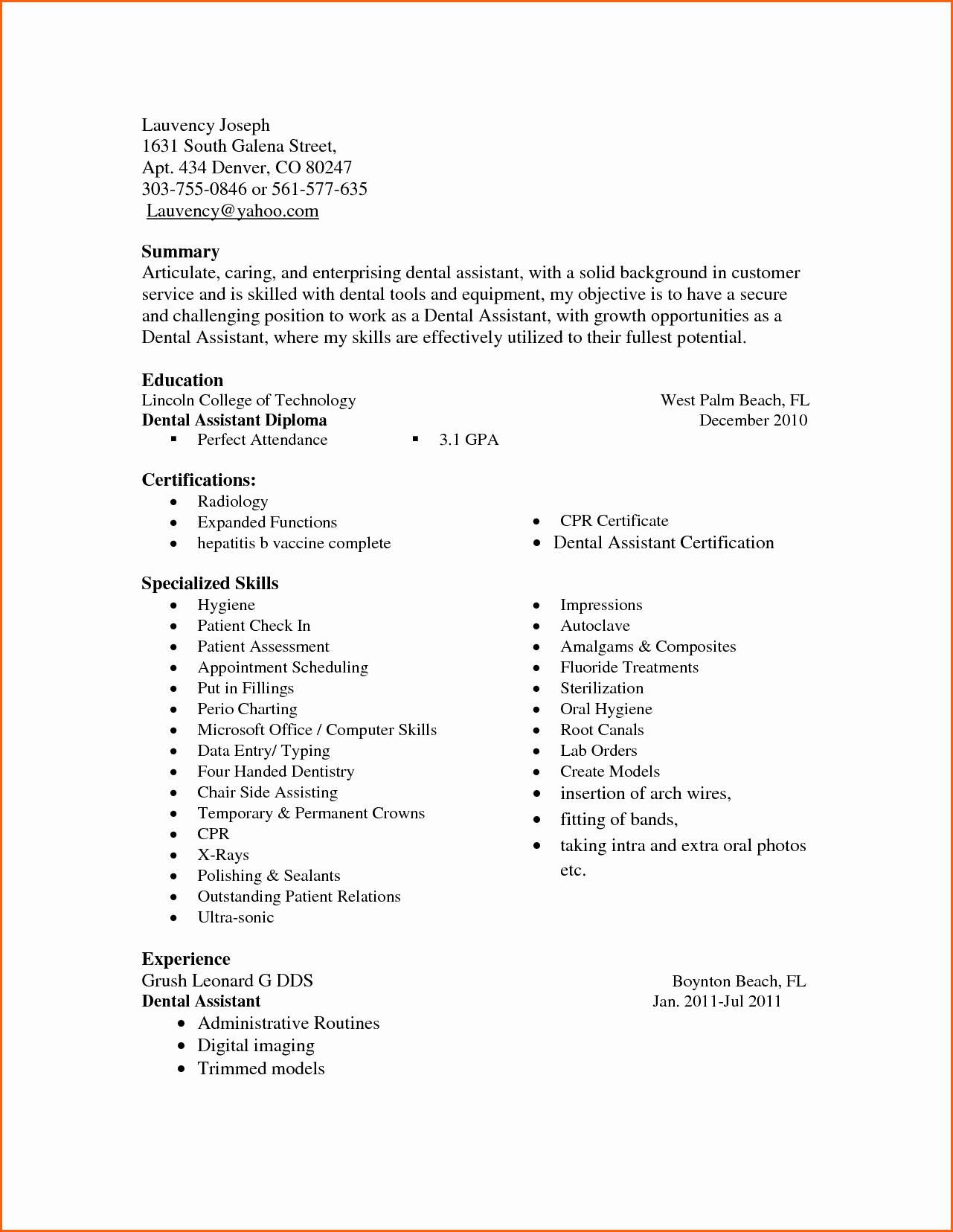 Microsoft Office Skills Resume Template Best Of List Microsoft Fice Skills Resume