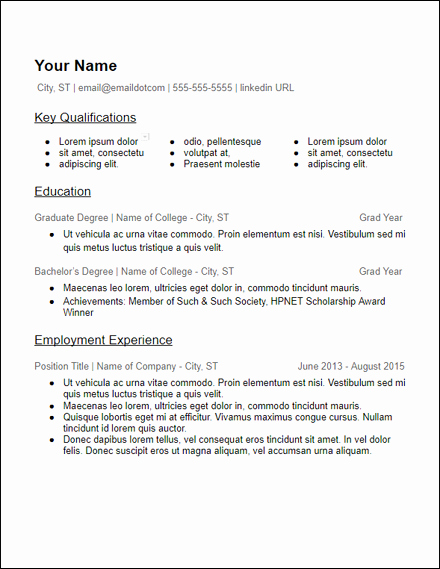 Microsoft Office Skills Resume Template Elegant Free Resume Templates Hirepowers