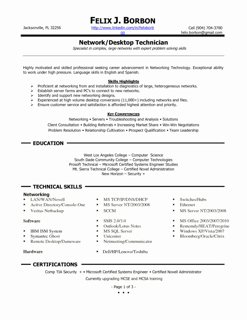 Microsoft Office Skills Resume Template Elegant Job Resume Samples Proficient Puter Skills Resume