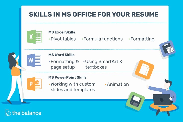 Microsoft Office Skills Resume Template Fresh Microsoft Fice Skills Resume