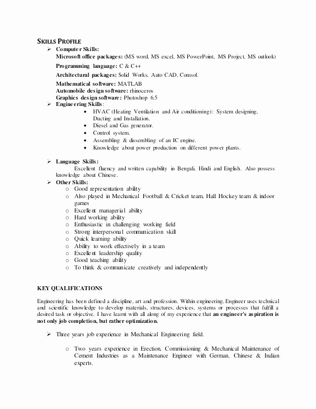 Microsoft Office Skills Resume Template Inspirational List Microsoft Fice Skills Resume