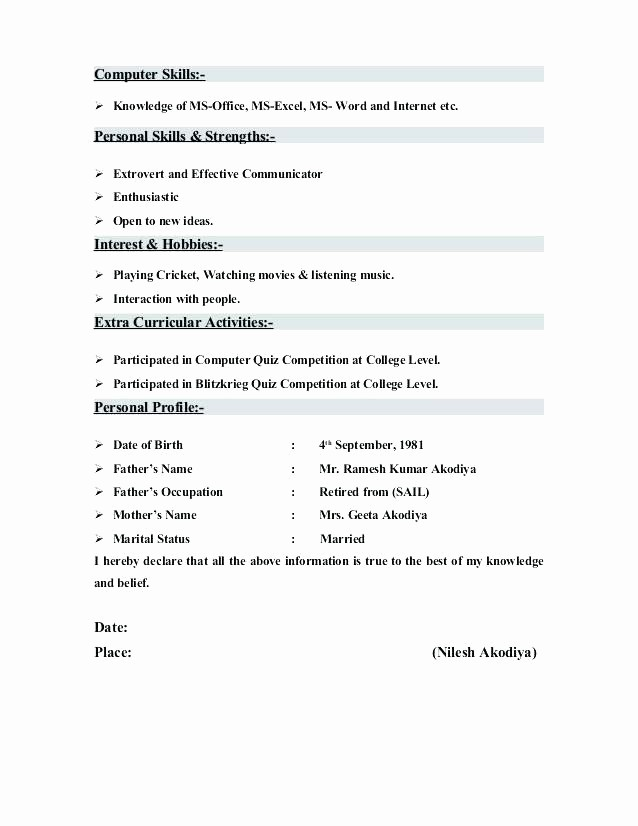 Microsoft Office Skills Resume Template Inspirational Resume Skills Fice Laborer Section Proficient In