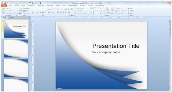 Microsoft Office Templates for Mac Elegant Free Microsoft Powerpoint Template – Pontybistrogramercy