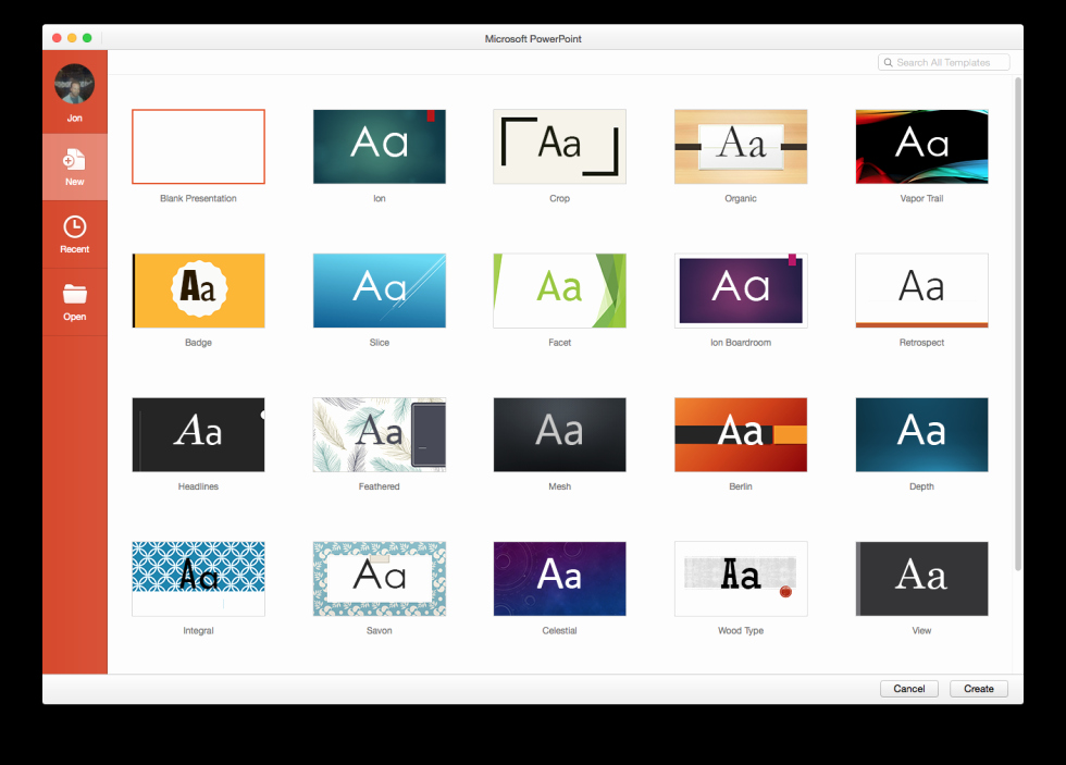 Microsoft Office Templates for Mac Inspirational A Quick Hands On with Fice 2016 for Mac