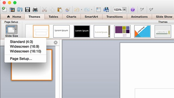Microsoft Office Templates for Mac Inspirational Powerpoint Size Template Briskifo
