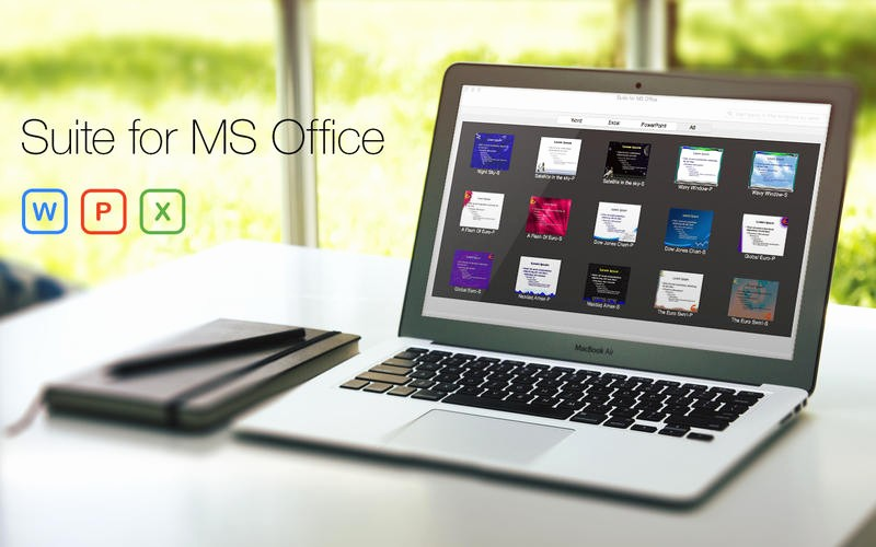 Microsoft Office Templates for Mac Lovely Suite for Ms Fice – Word Excel Powerpoint – Templates
