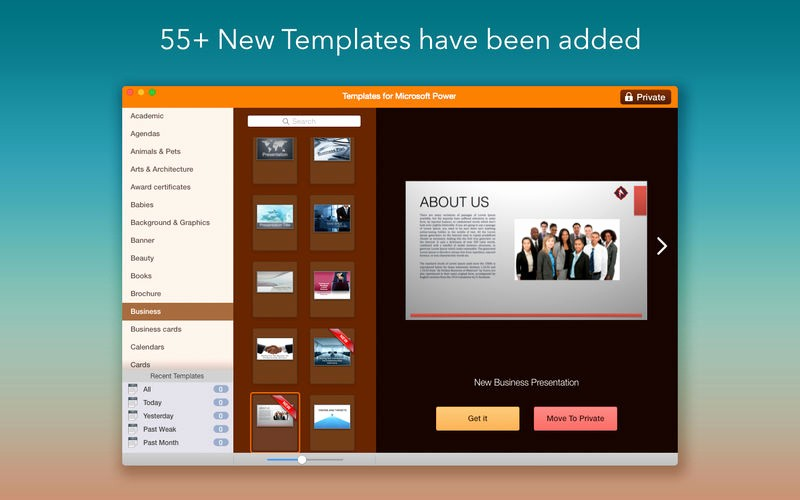 Microsoft Office Templates for Mac Luxury Templates for Microsoft Powerpoint On the Mac App Store