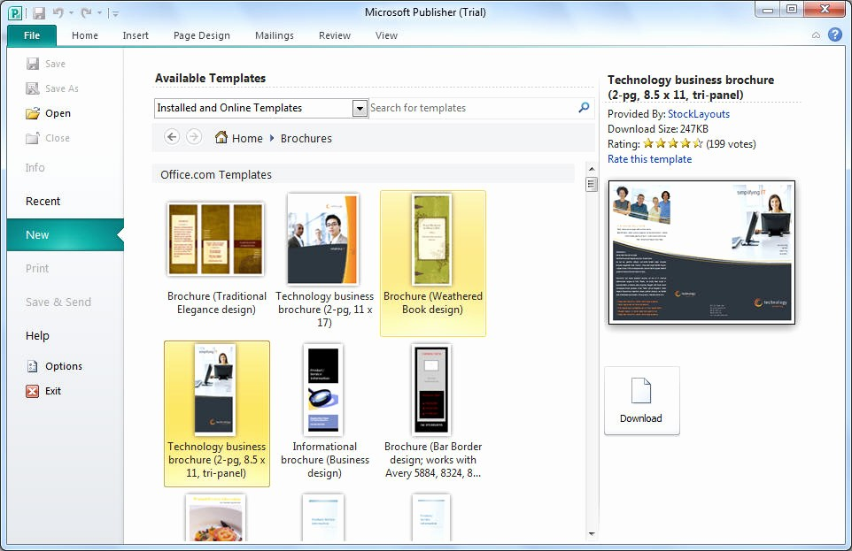 Microsoft Office Templates for Publisher Awesome Microsoft Publisher Download