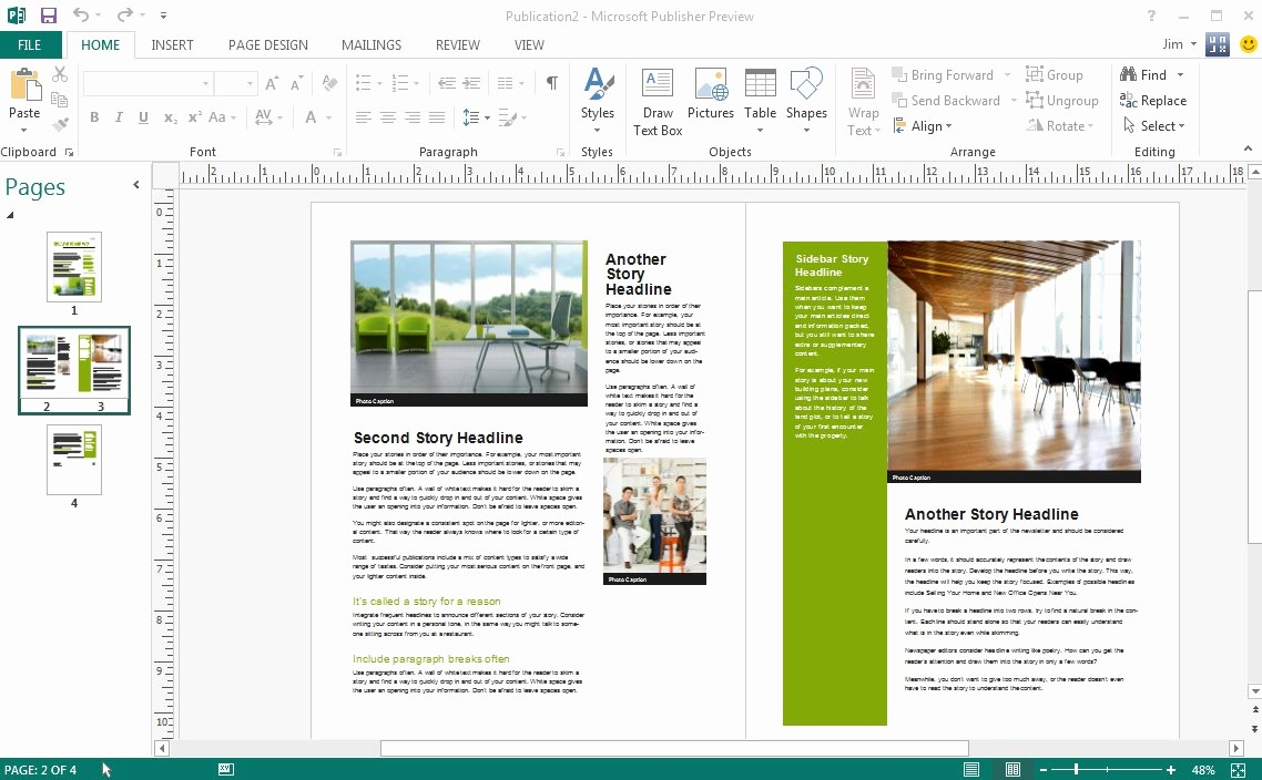 Microsoft Office Templates for Publisher Fresh Microsoft Publisher Newsletter Templates
