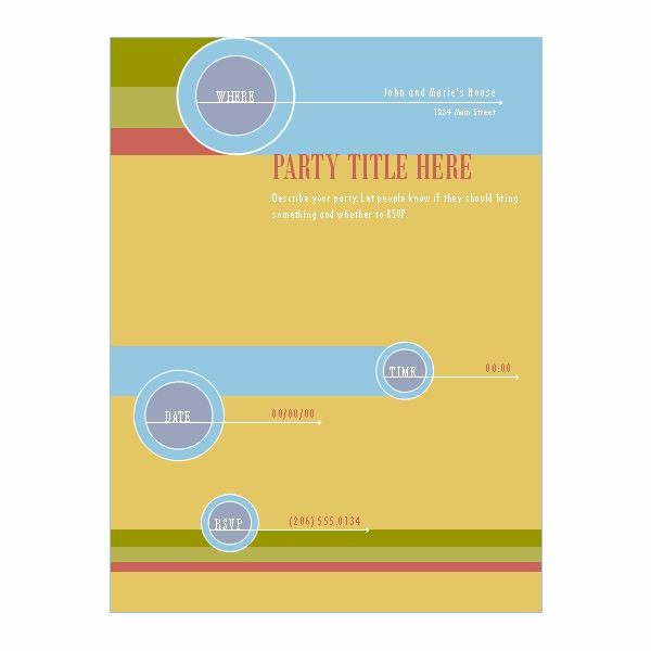 Microsoft Office Templates for Publisher Lovely Free Templates for Microsoft Publisher Flyers