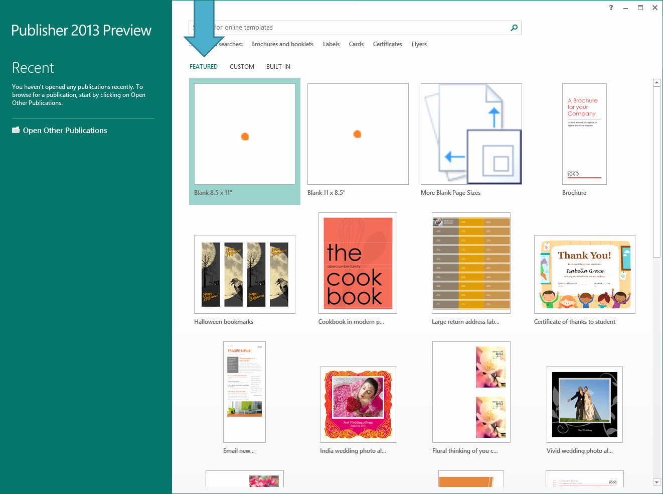 Microsoft Office Templates for Publisher Luxury A Fresh Start with Templates Microsoft 365 Blog
