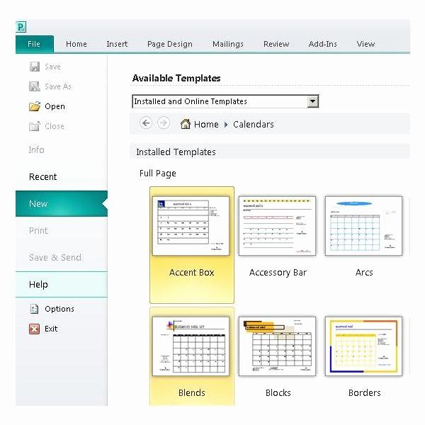 Microsoft Office Templates for Publisher Unique Microsoft Publisher Daily Calendars