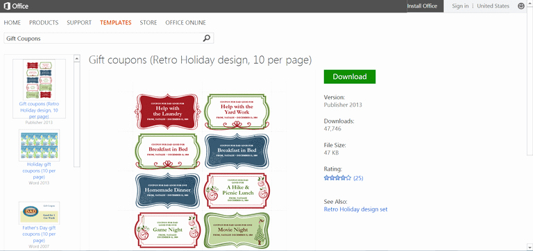 Microsoft Office Templates for Publisher Unique Microsoft S Best Free Diy Christmas Templates