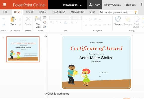 Microsoft Office Templates Power Point Fresh How to Create Printable Award Certificates In Powerpoint