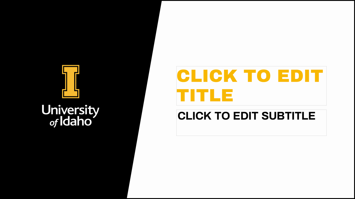 Microsoft Office Templates Power Point Fresh Presentations Brand Resource Center University Of Idaho