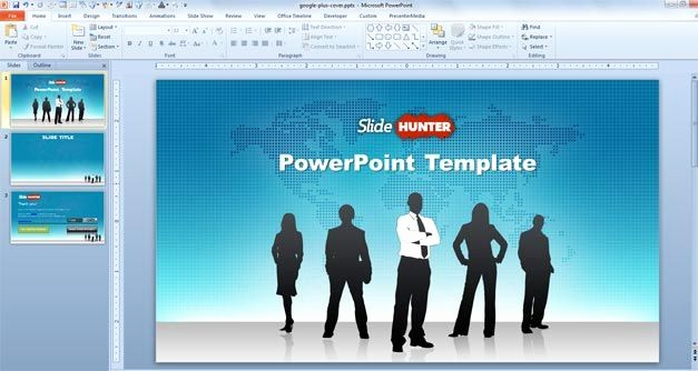 Microsoft Office Templates Power Point Inspirational Free Free Widescreen Global Leadership Powerpoint Template
