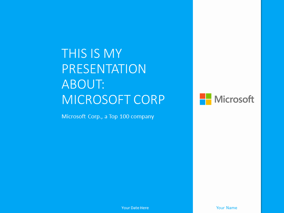 Microsoft Office Templates Power Point Inspirational Free Light Blue Powerpoint Templates Presentationgo