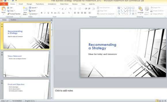 Microsoft Office Templates Power Point Unique Free Business Strategy Template for Powerpoint 2013