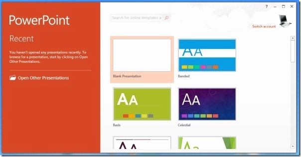 Microsoft Office themes 2013 Download Elegant Best Presentation software and tools