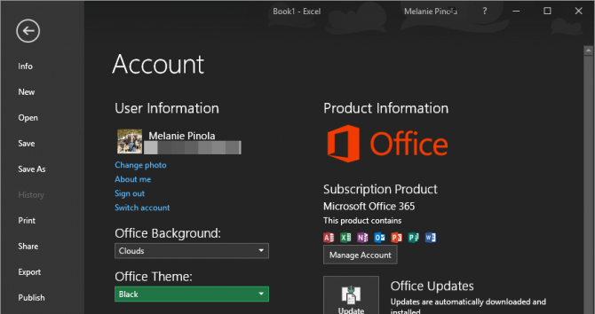 Microsoft Office themes 2013 Download Luxury How to Turn On the Black theme In Microsoft Fice