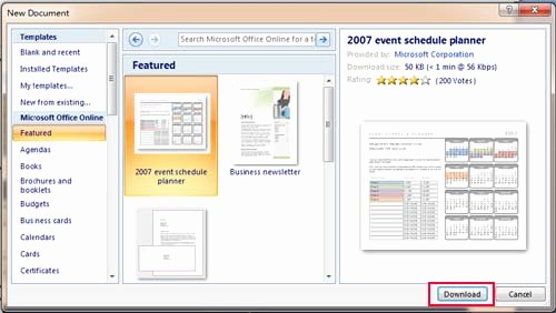 Microsoft Office themes 2013 Download New where to Save Download and Install Template In Word 2007