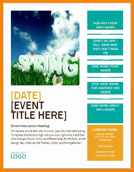 Microsoft Office Word Flyer Templates Fresh Flyer Template Word Free – Free Brochure Templates