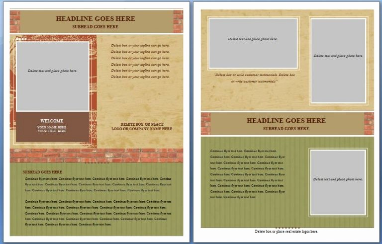 Microsoft Office Word Flyer Templates Fresh Free Flyer Templates Word