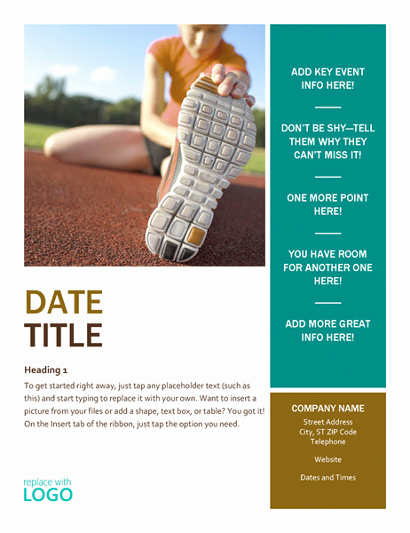Microsoft Office Word Flyer Templates Inspirational Flyers Fice