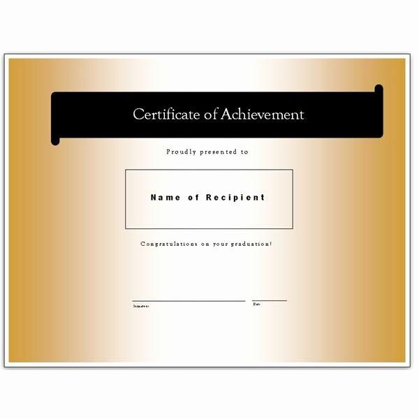 Microsoft Publisher Award Certificate Templates Beautiful Congratulatory Graduation Certificates Free Downloads for